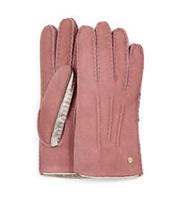 Ugg Leather & Shearling Sheepskin Gloves (Lantana Pink)
