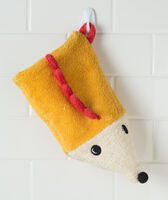 Deals on Hallmark Baby Yellow Hedgehog Bath Mitt