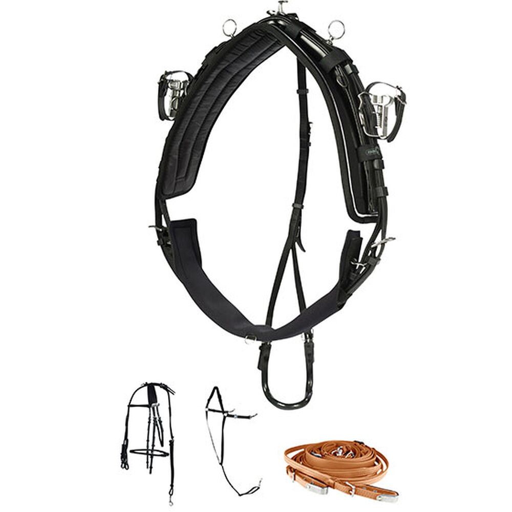 Finntack Pro QH Synthetic Harness, Complete