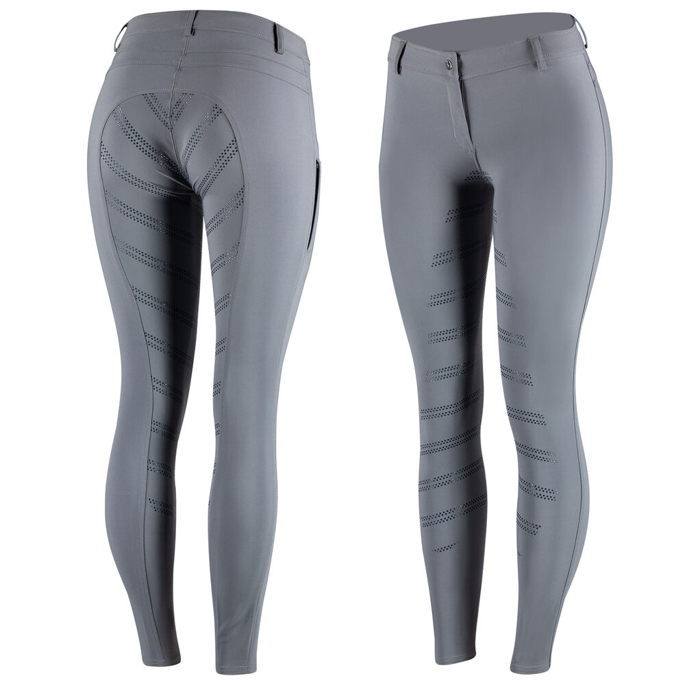 Horze Ada Women's Silicone Full Seat Breeches with Phone Pocket
