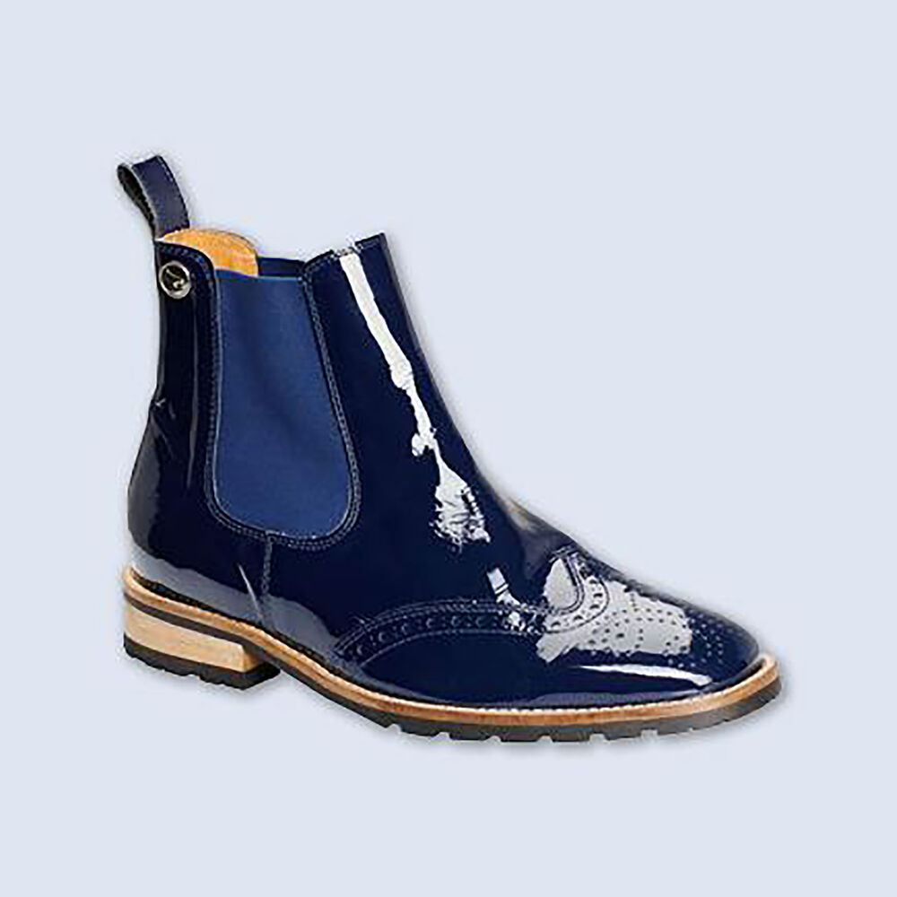 Montar Blue Leatherboot