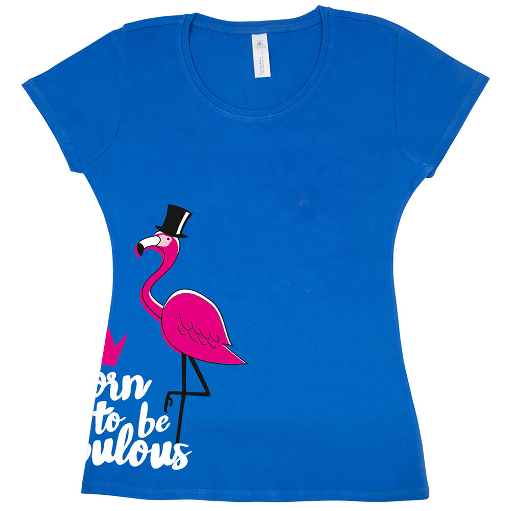 Pfiff T-Shirt Fabulous Flamingo