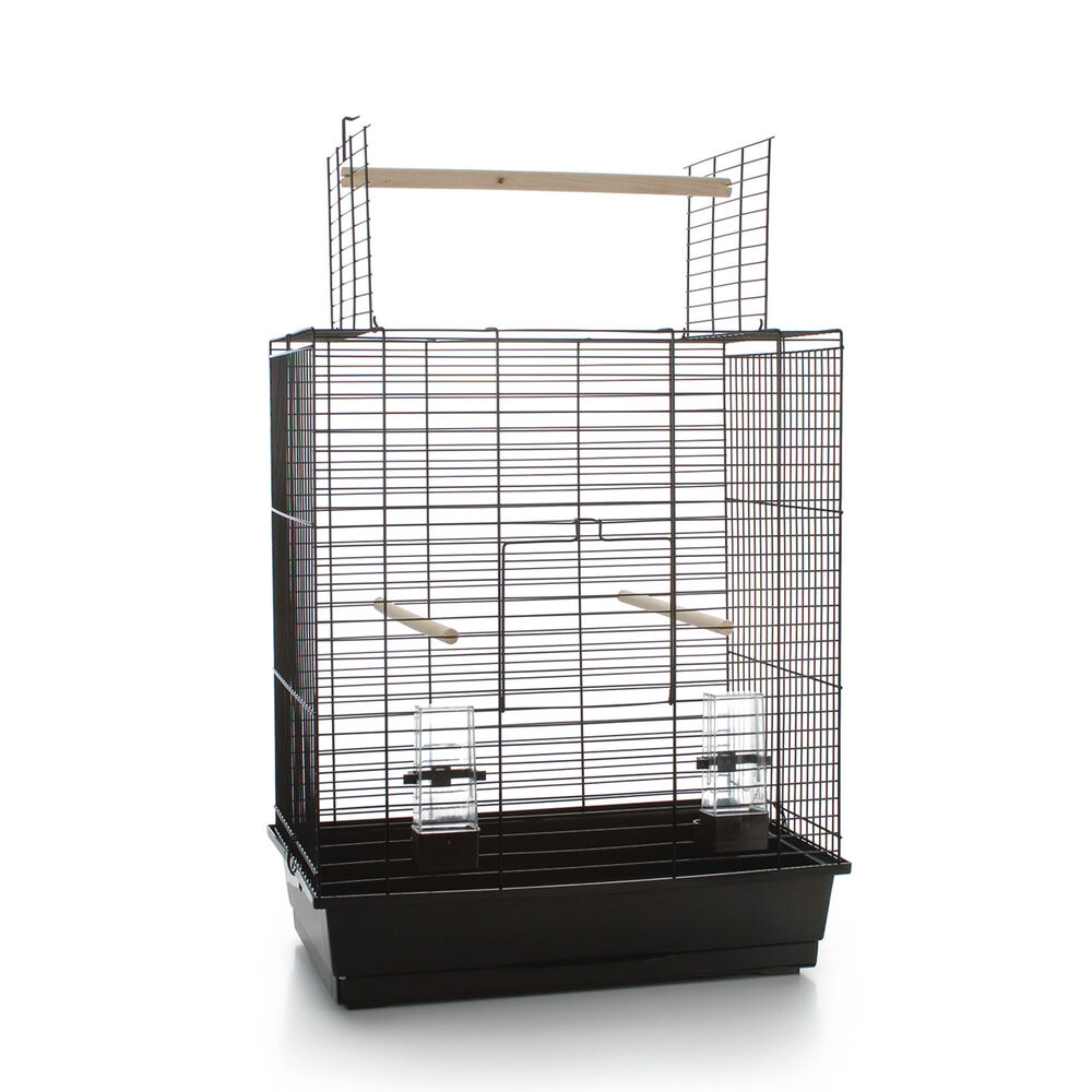 Beeztees Birdcage Big Ara Open, black, 54X34X68,5