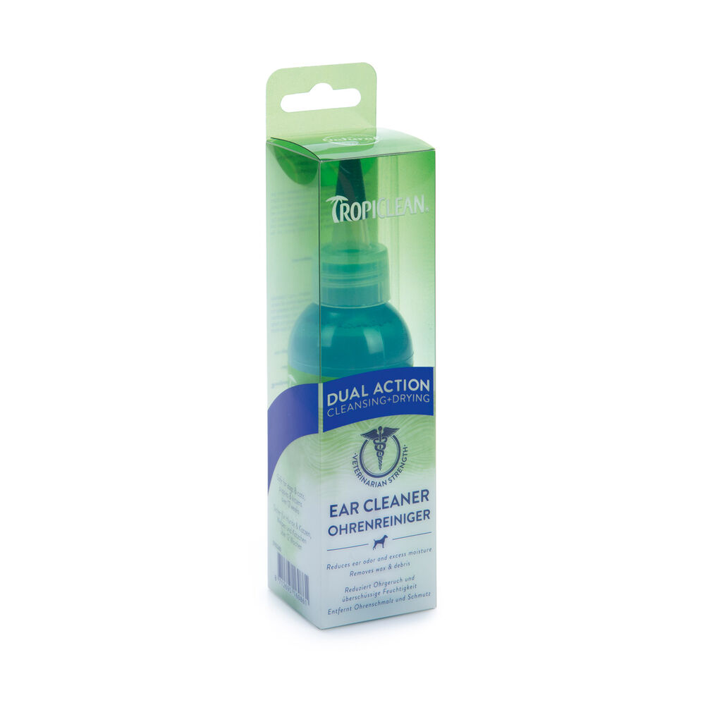 TropiClean - Dual Ear Cleaner - 118 ml