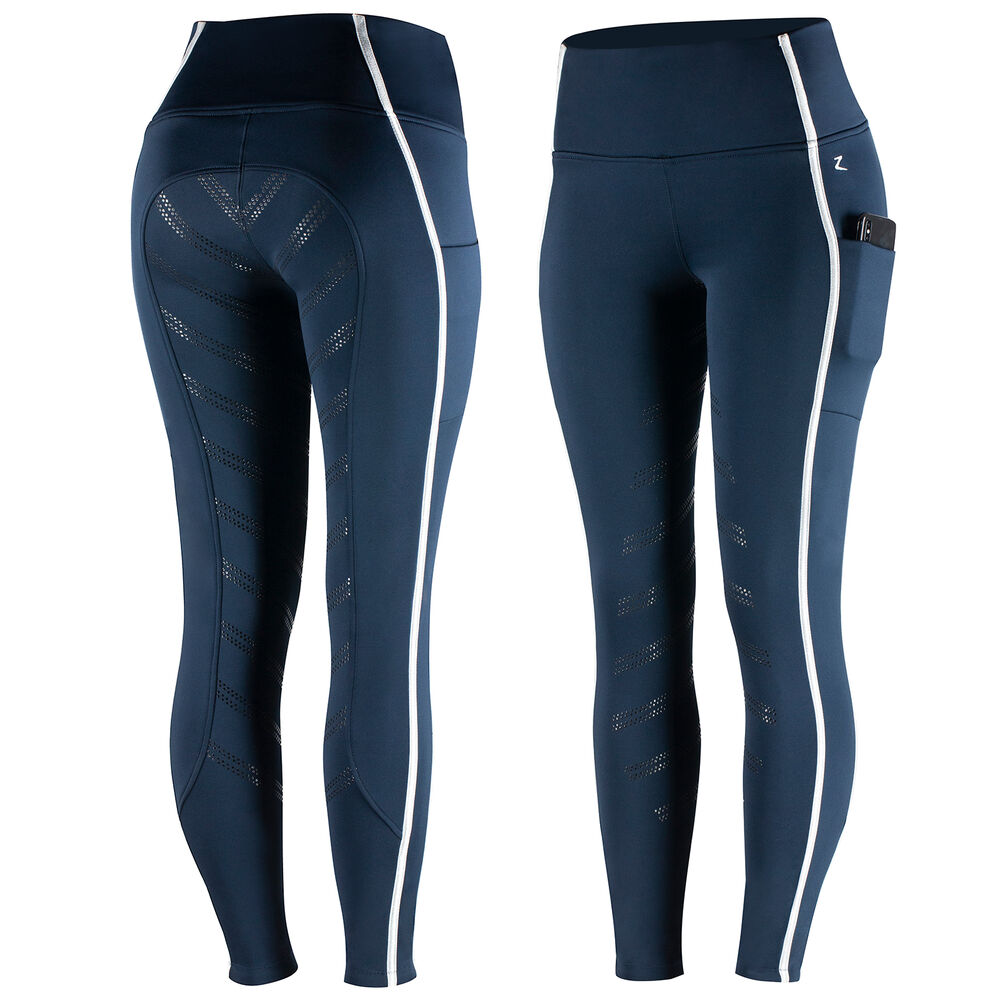 LIMITED EDITION - Horze Anna Women's Winter Silicone Full Seat Tights
