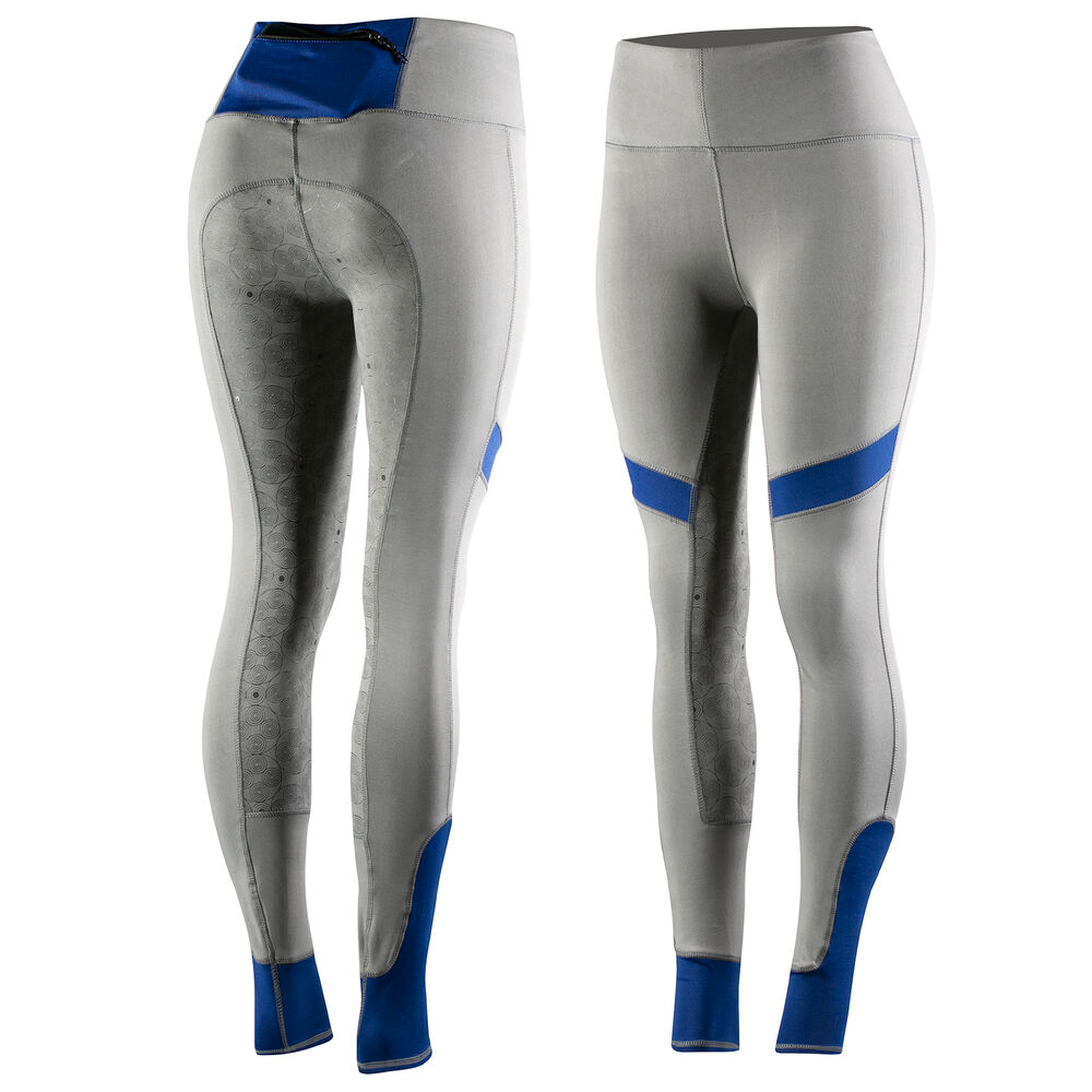 Horze Women's Silicone FS Riding Tights with Mobile pocket