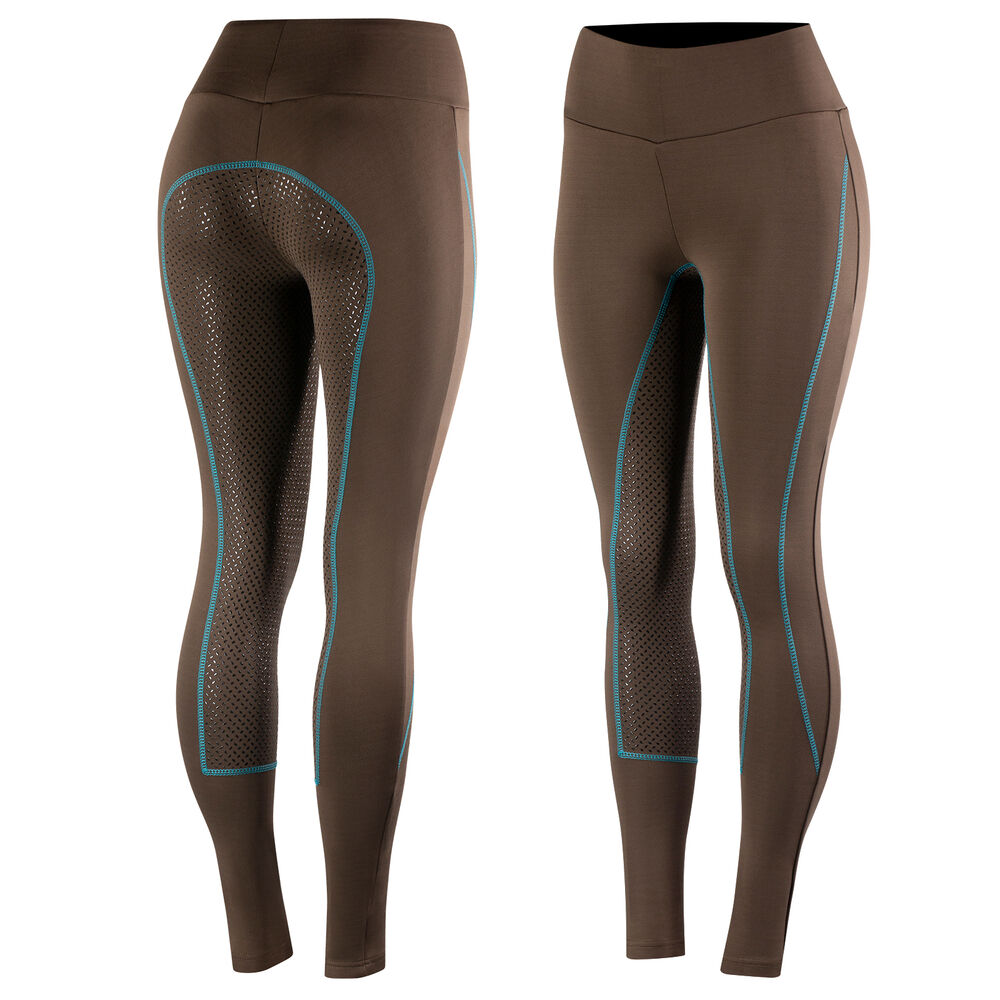 Horze Women's Silicone Full Seat Riding Tights