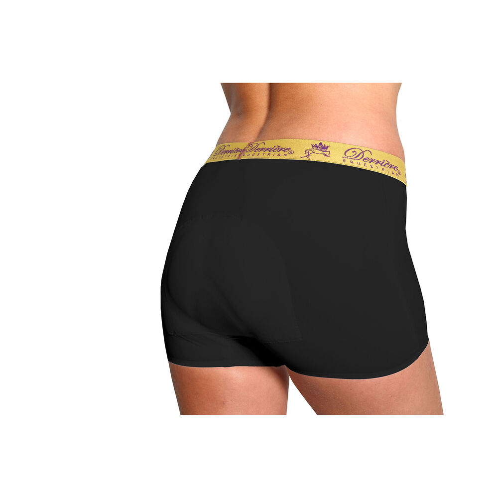 Derriere Equestrian Performance Bonded vadderade damboxershorts