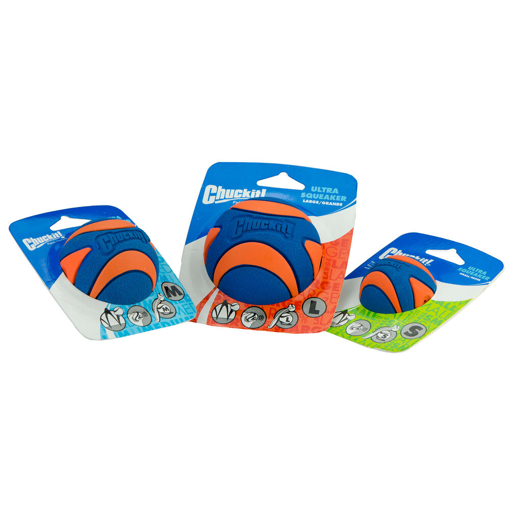 Chuckit! Ultra Squeaker Ball - Medium - 1 stuk