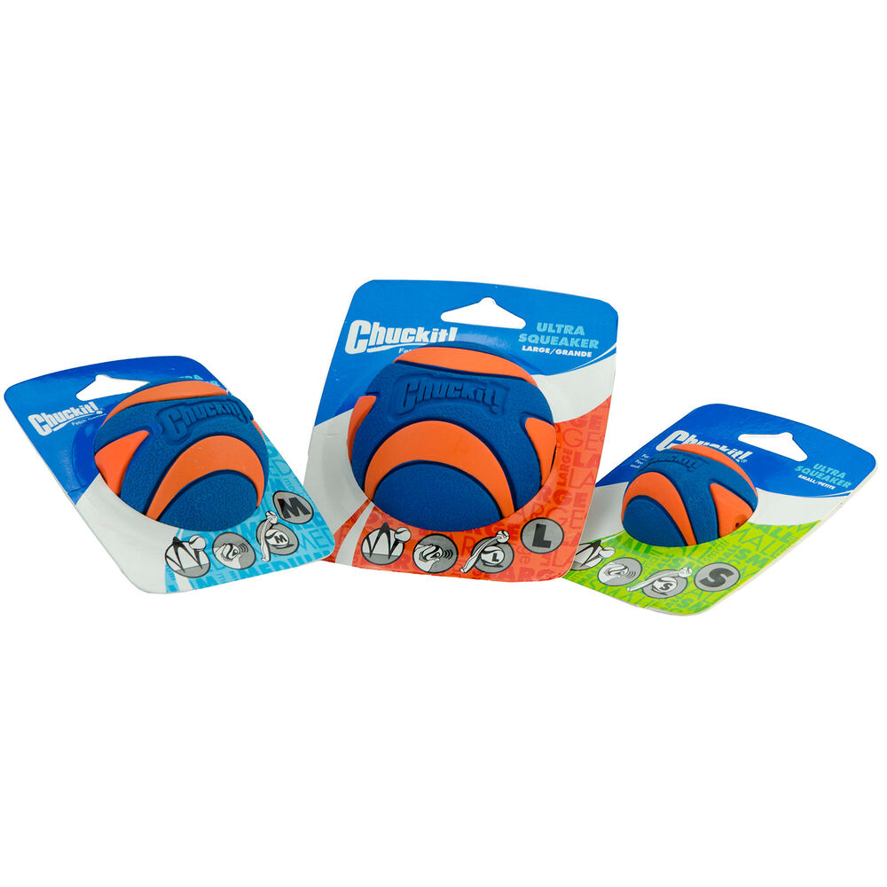 Chuckit! Ultra Squeaker Ball - Small - 1 stuk