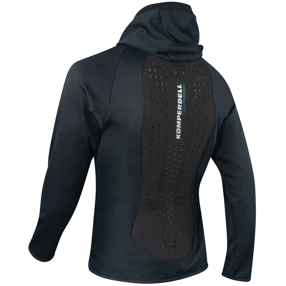 Komperdell Men's Hoody Shirt Back Protector