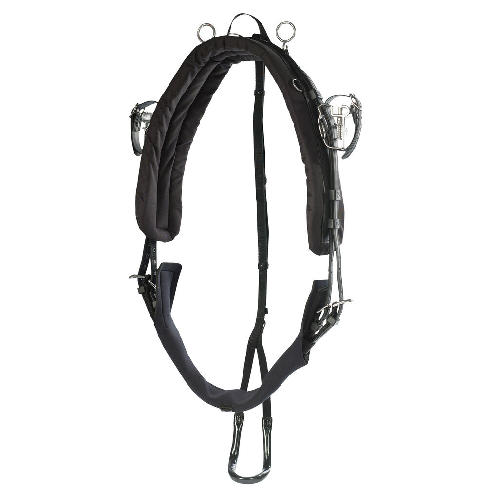 Finntack Pro Extreme QH Synthetic Racing Harness, KIT