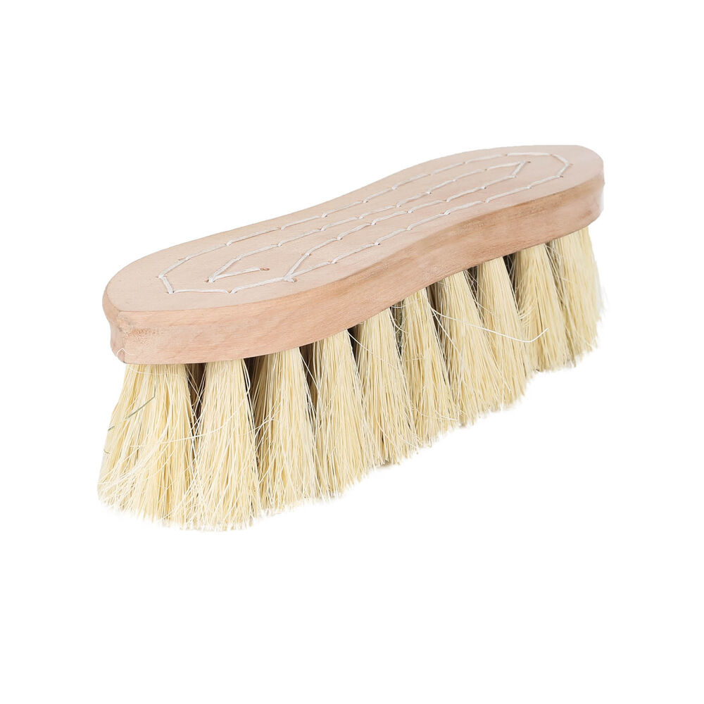 Horze Wood Back Firm Brush w/natural mix bristles, 5.5cm