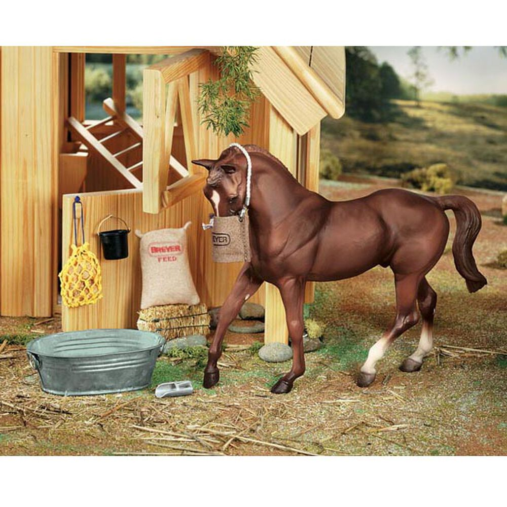 Breyer Traditional (schaal 1:9) - Stable Feeding Set