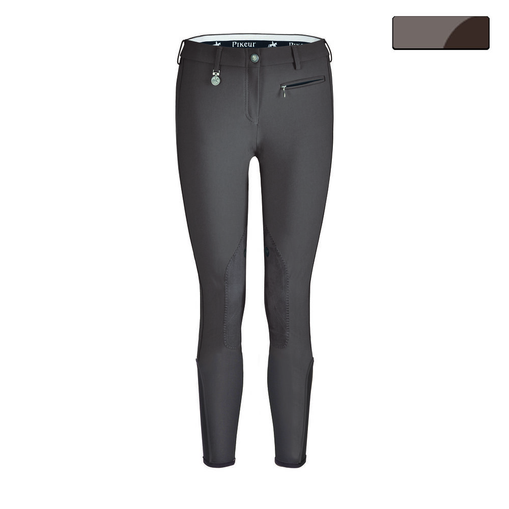 Pikeur Prisca womens riding breeches, McCrown special knee patches