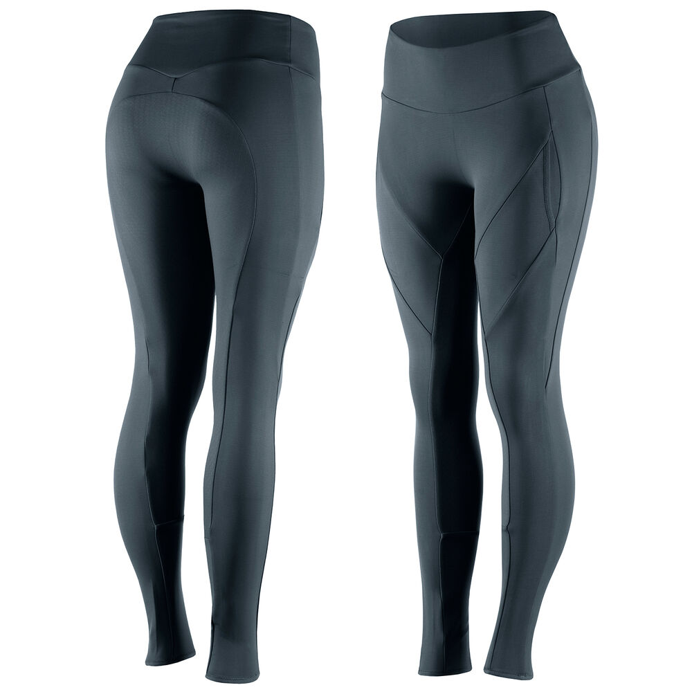 Horze Giselle Women's Silicone Full Seat Tights with phone pocket