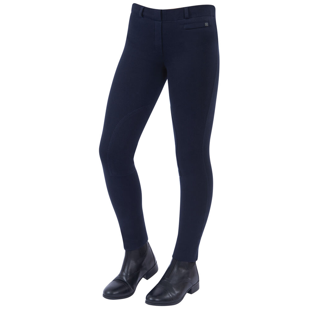 Dublin Supa-fit knäskodda Pull On-jodhpurs, Junior