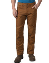 man in brown pants and brown leather shoes