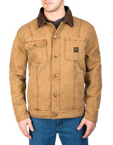 man in brown button up jacket