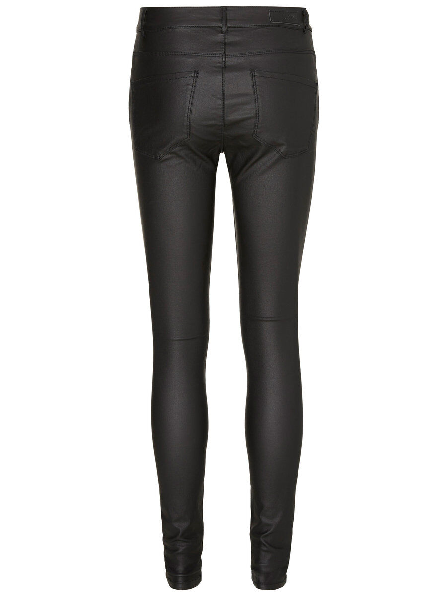 VERO MODA Seven Nw Smooth Coated Hose Damen Schwarz