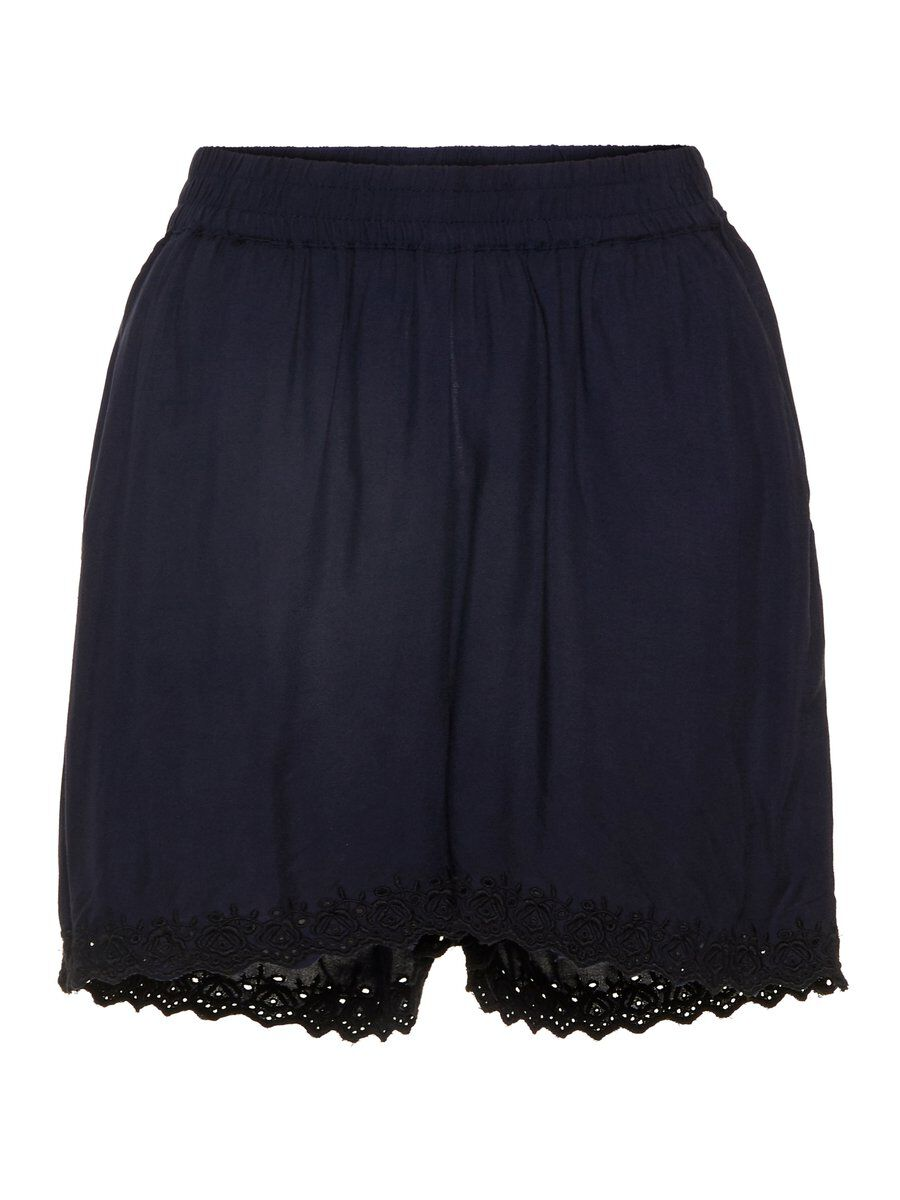 VERO MODA Normal Waist Shorts Damen Blau