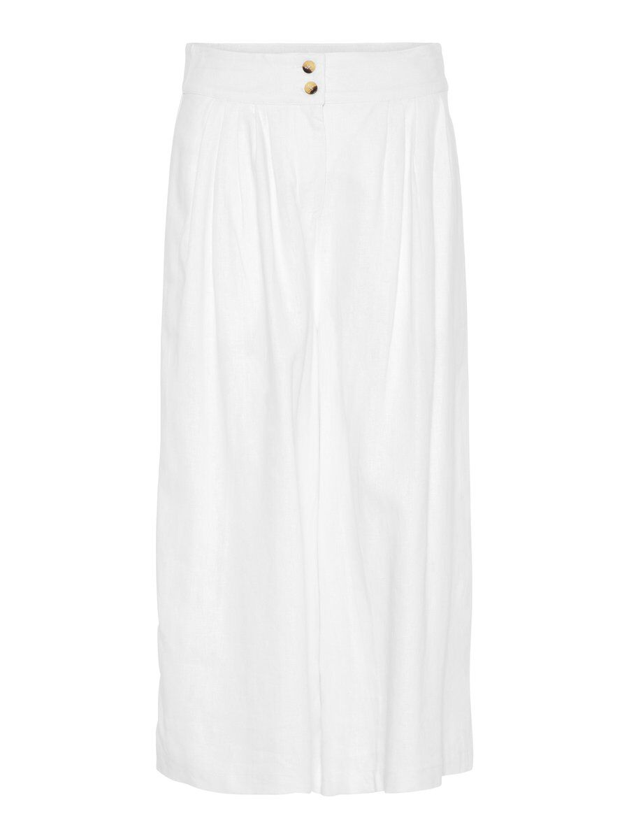VERO MODA High Waist Hose Damen White