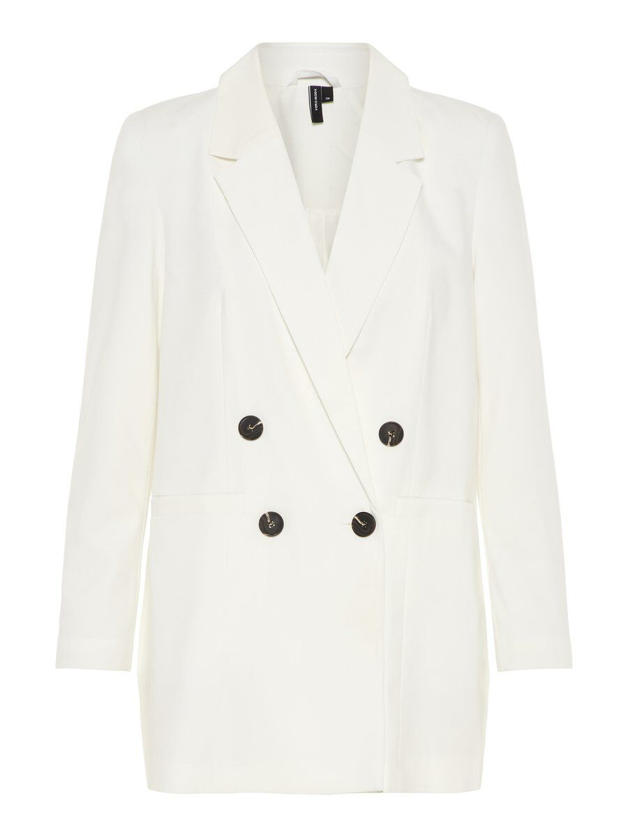 VERO MODA Relaxed Fit Blazer Damen White