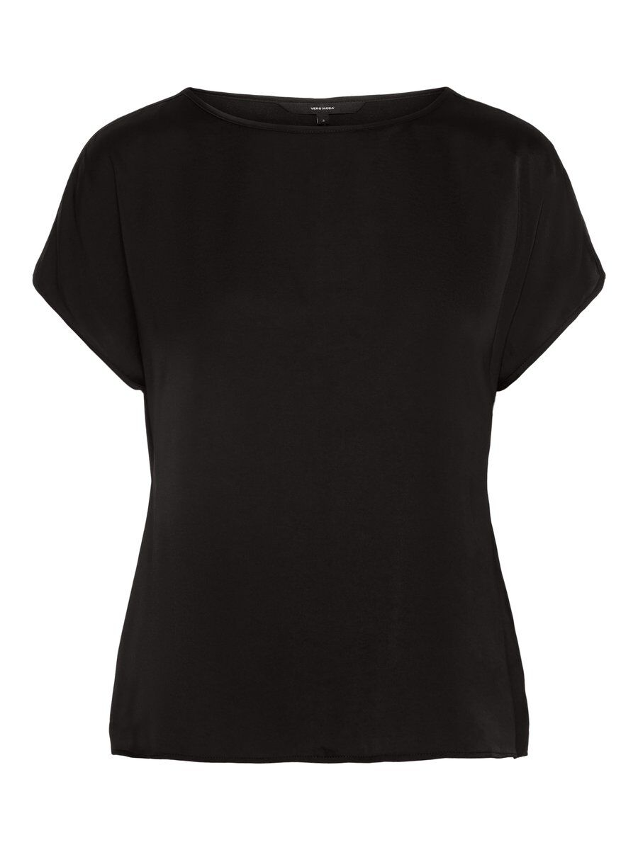 VERO MODA O-neck Top Damen Schwarz