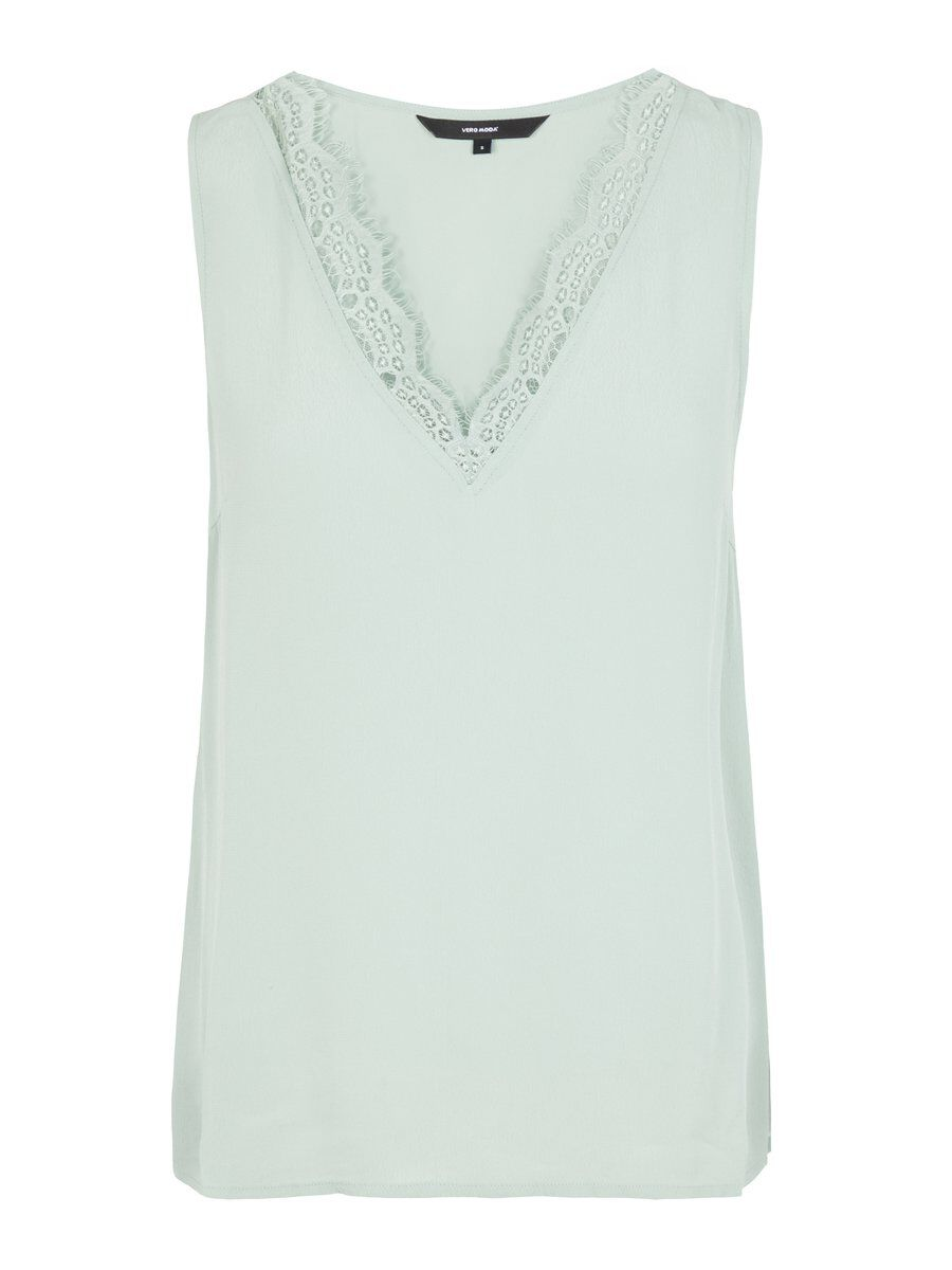 VERO MODA Lace Top Damen Grün