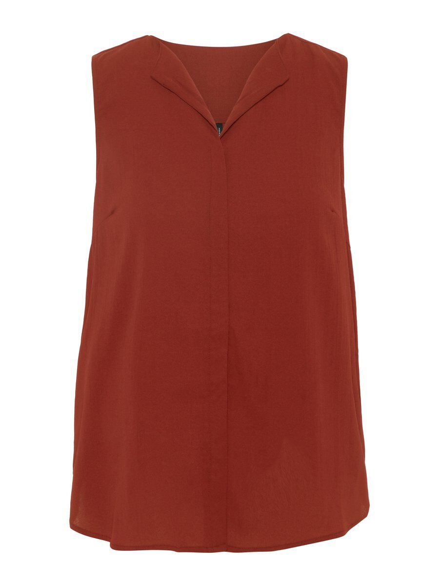 VERO MODA Sleeveless Top Damen Braun