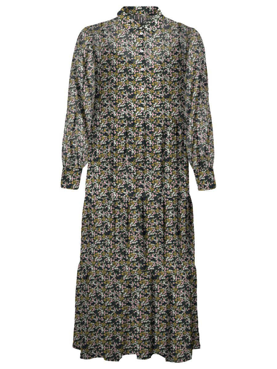 Vero Moda Print Maxikleid Damen Hit Posting 1441