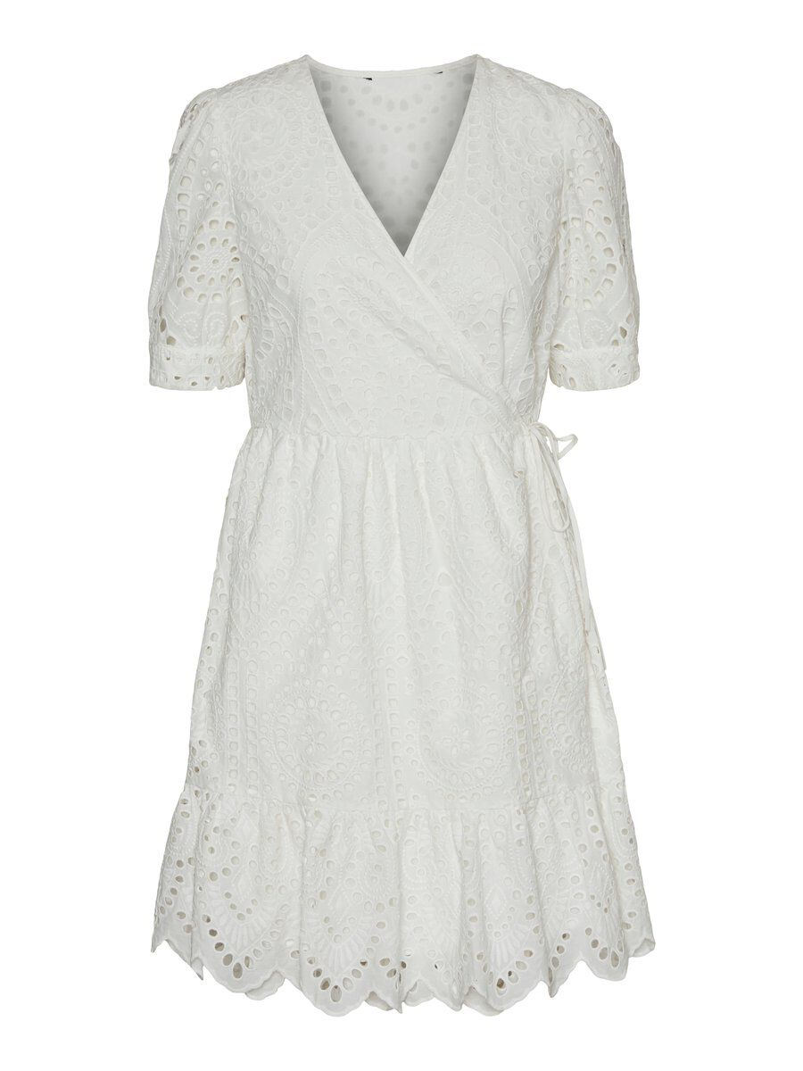 Optimal: Vero Moda Wickel Minikleid Damen White