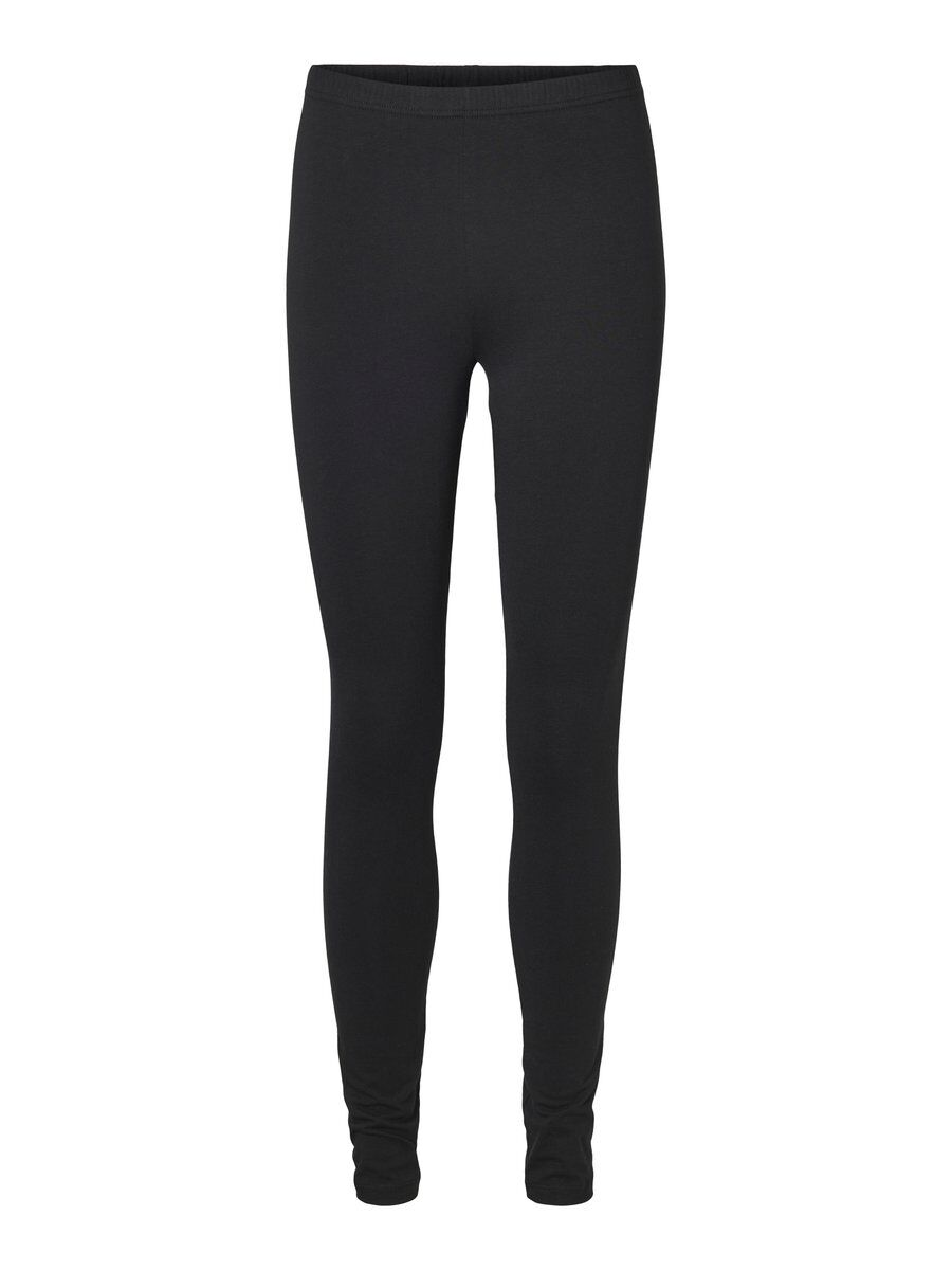 2-pack Lange Legging Dames Zwart