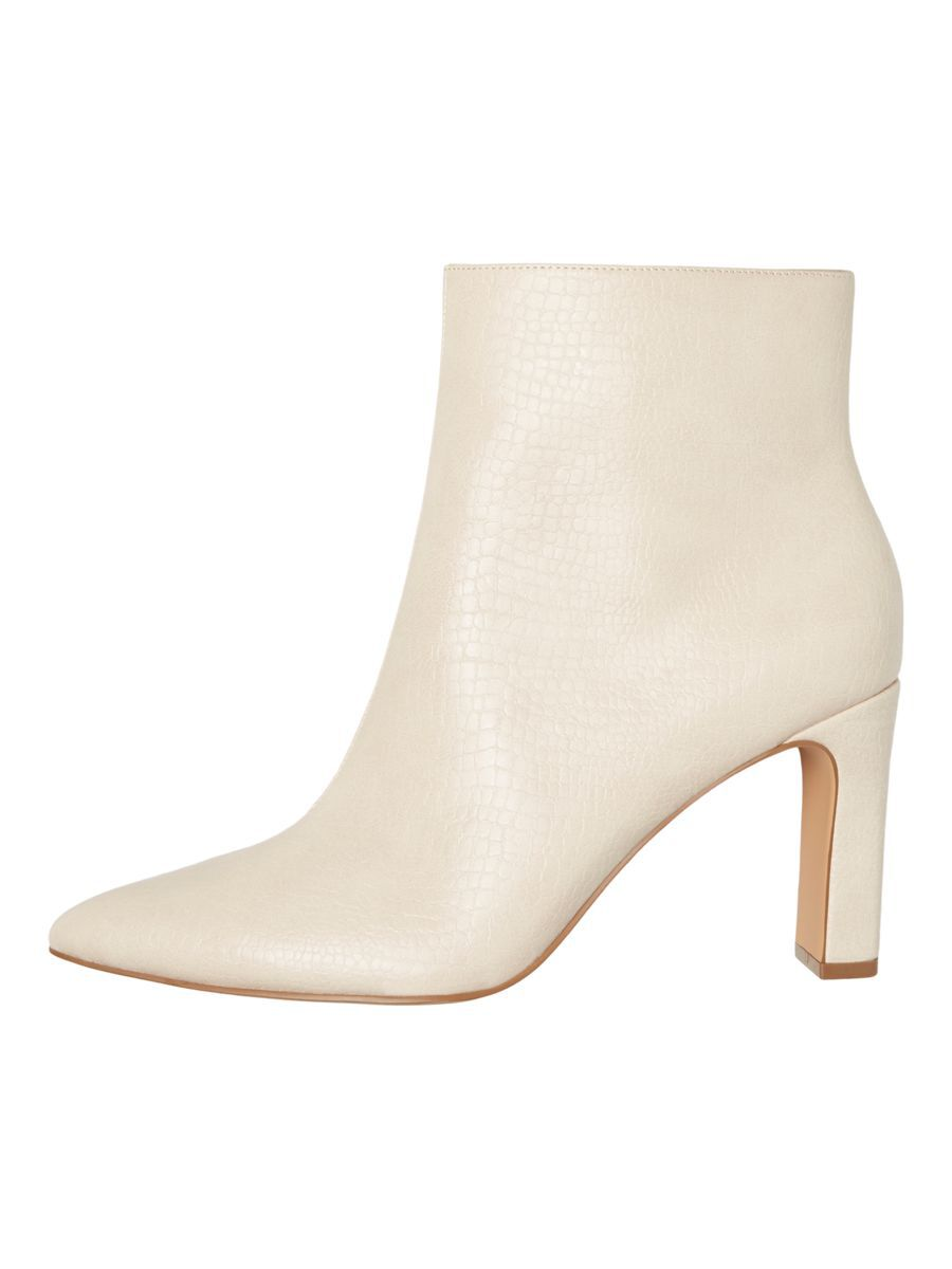 High Heeled Ankle Boots Grijs