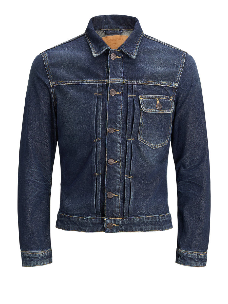 Image of JACK & JONES Jack Jos 540 Denimjakke Mænd Blå (22394040161)