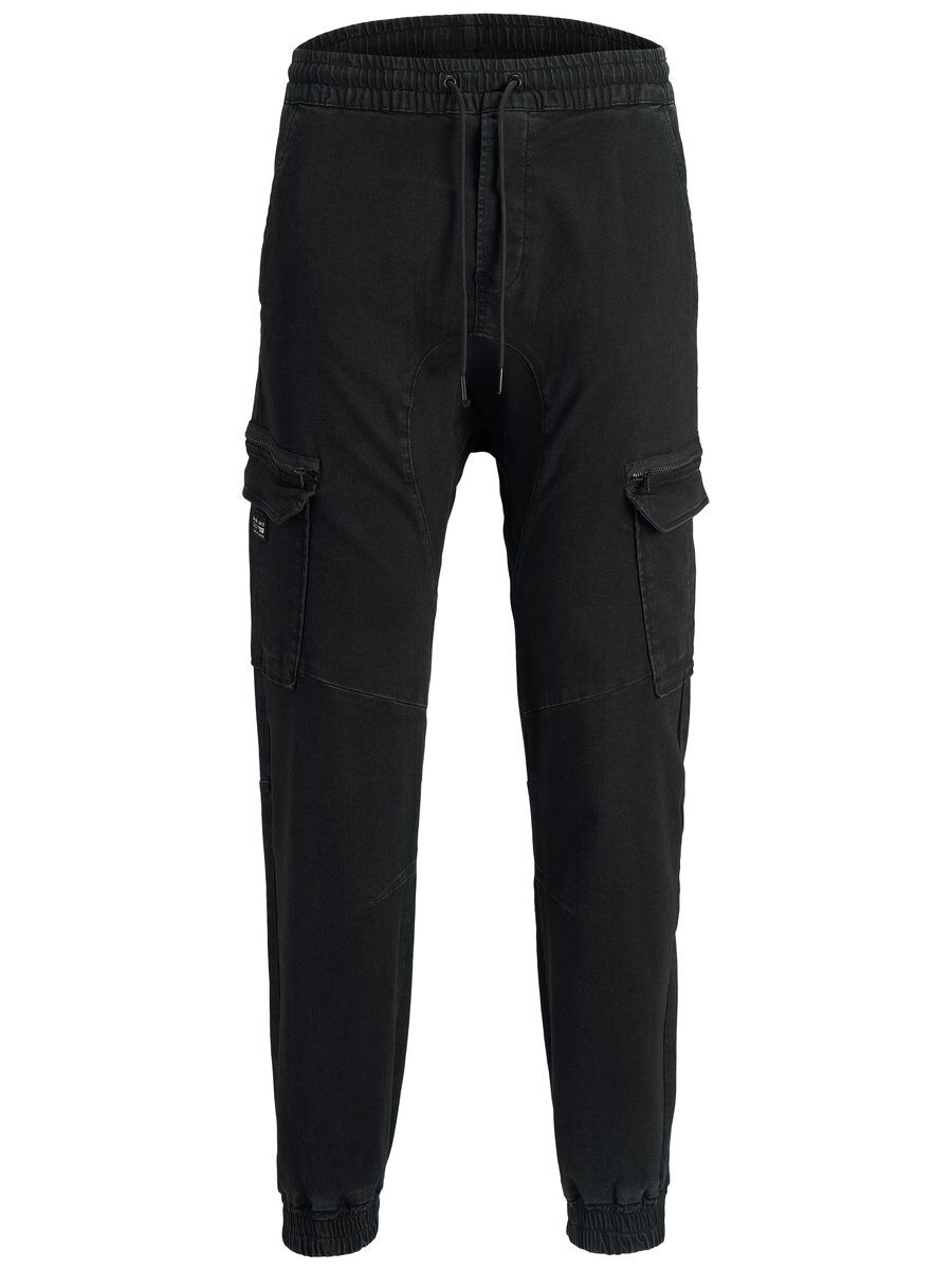 JACK & JONES Zack Onix Jj 137 50sps Ltd Reisitaskuhousut Men Black