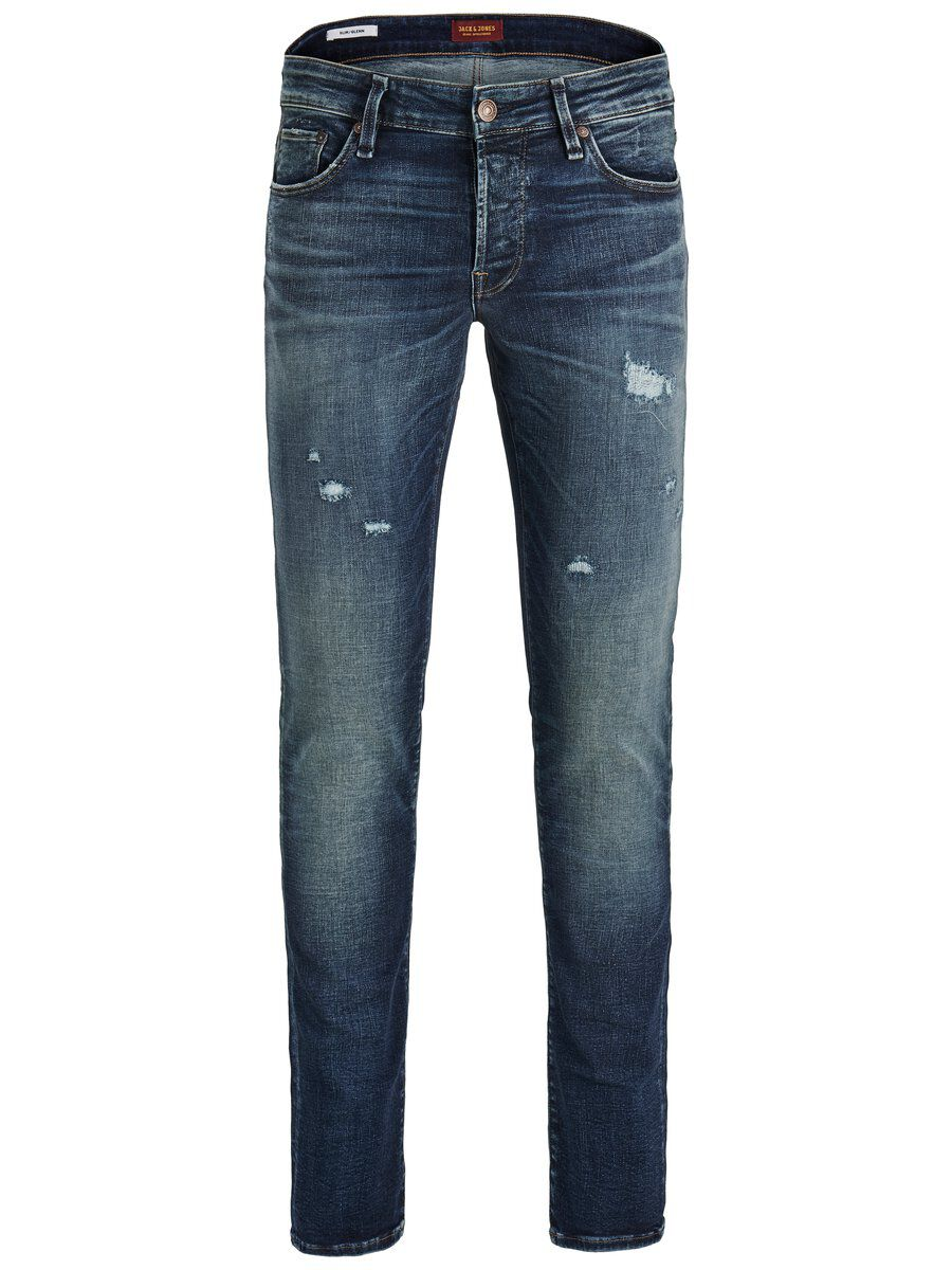Image of JACK & JONES Glenn Icon Jos 424 50sps Slim Fit Jeans Mænd Blå (23041245007)