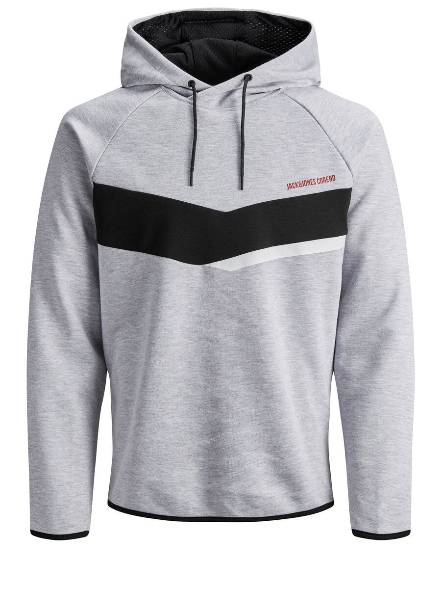 JACK & JONES Urbaani Huppari Men Grey