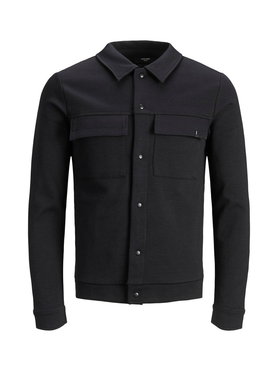 JACK & JONES Collegekankainen Takki Men Black