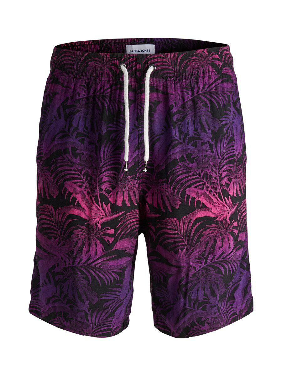 Image of JACK & JONES Tropisk Print Shorts Mænd Blue; Pink; Purple (24174533593)