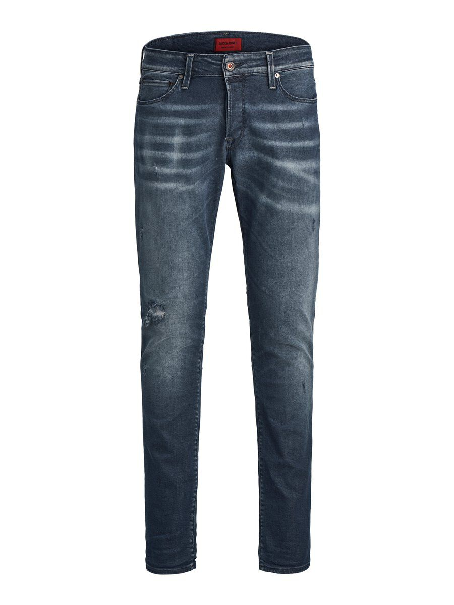 Image of JACK & JONES Glenn Icon Bl 910 Slim Fit Jeans Mænd Blå (24403436203)