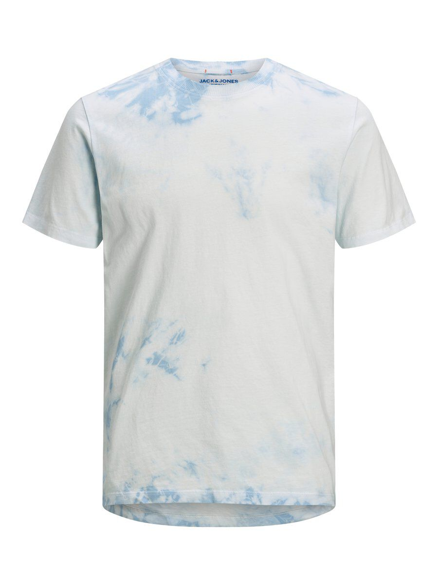 Image of JACK & JONES Tie-dye T-shirt Mænd Blå (26246964971)