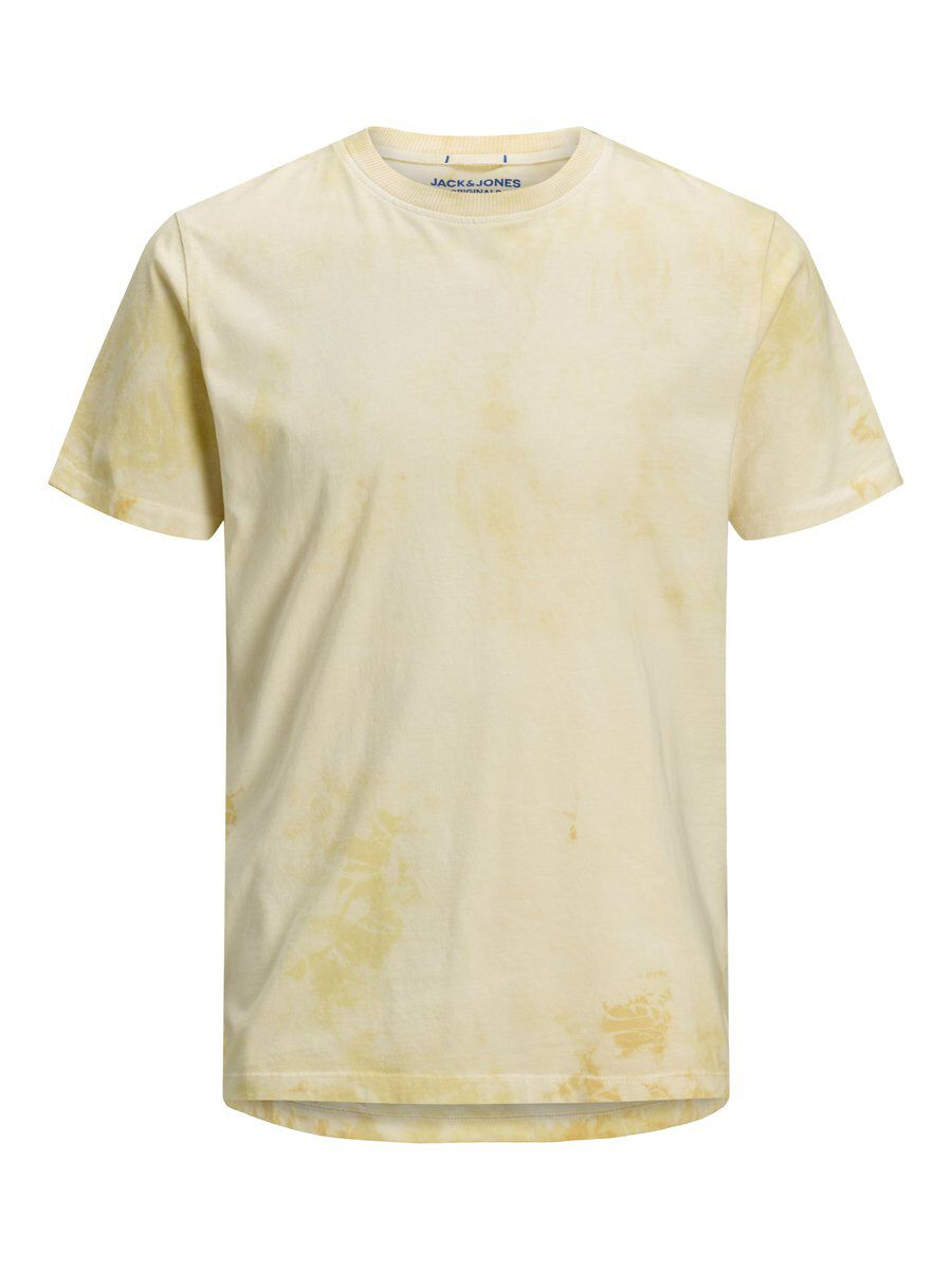 Image of JACK & JONES Tie-dye T-shirt Mænd Gul (26246964969)