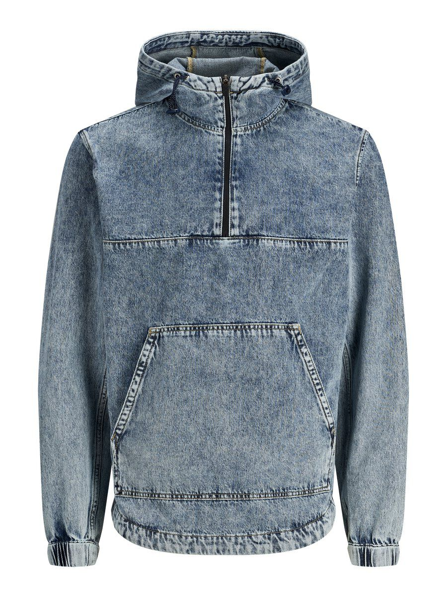JACK & JONES Jean Anorak Men blue