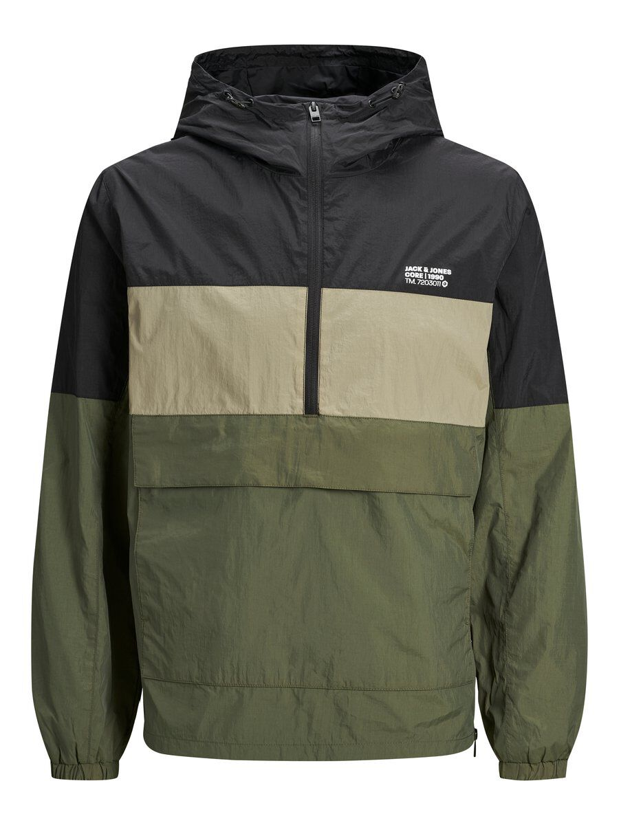 JACK & JONES Simple Anorak Men green