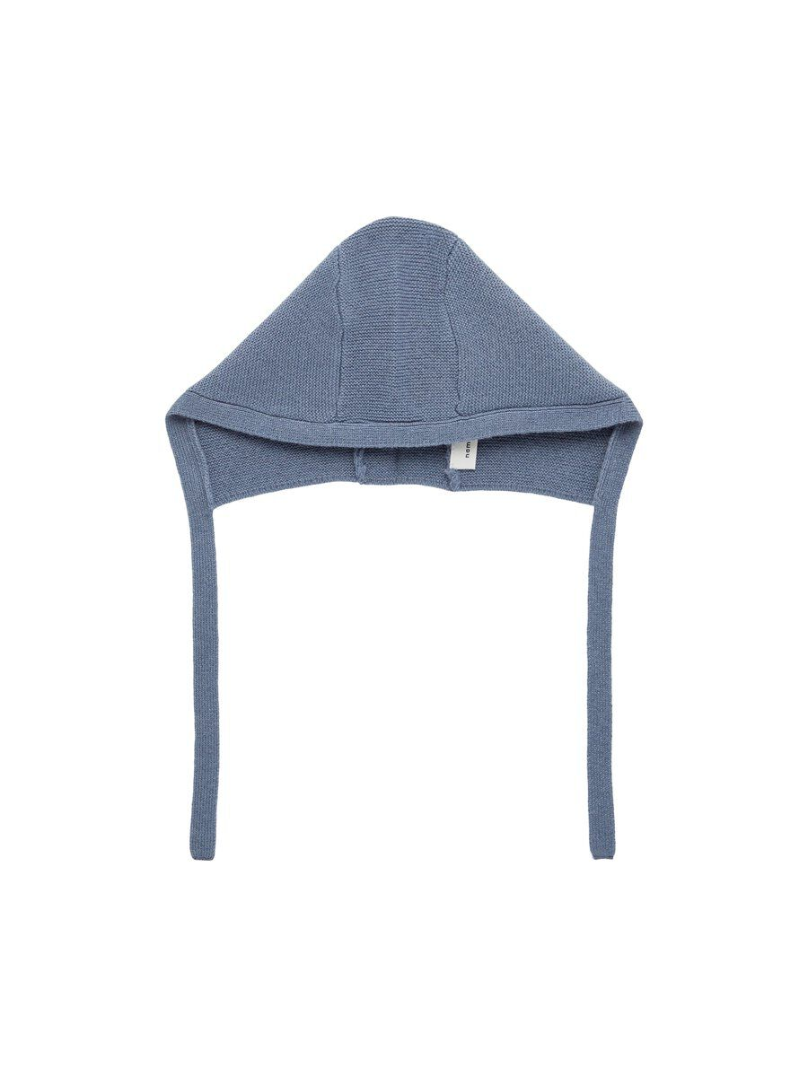 NAME IT Knitted Wool Hat Unisex Grey