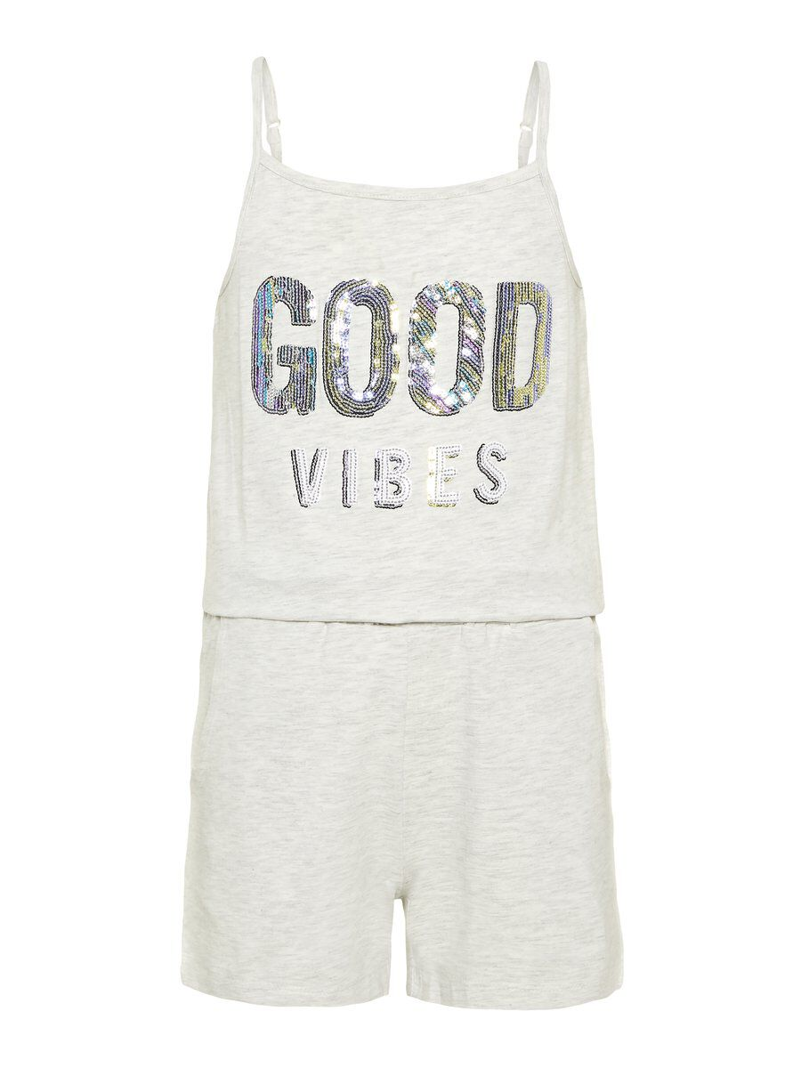 NAME IT Sequin Embellished Playsuit Women Grey