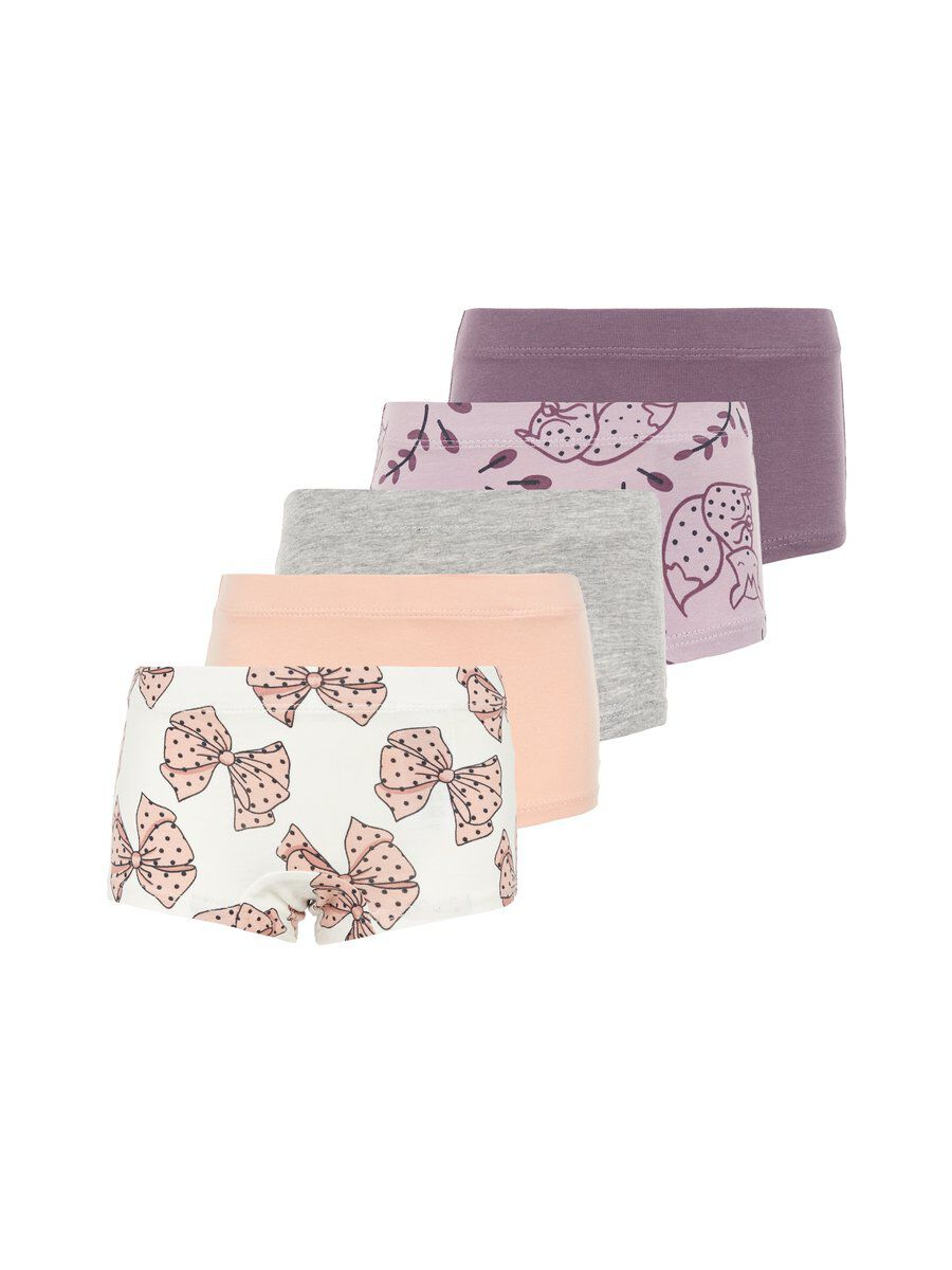 NAME IT Lot De 5 Hipster Women pink