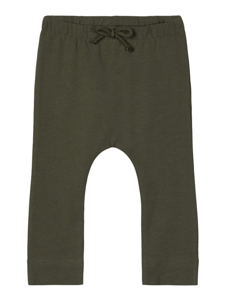 nameit NAME IT Katoenen Jersey Broek Heren Green