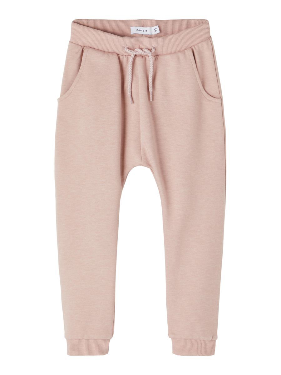 NAME IT Cotton Sweatpants Dames Roze